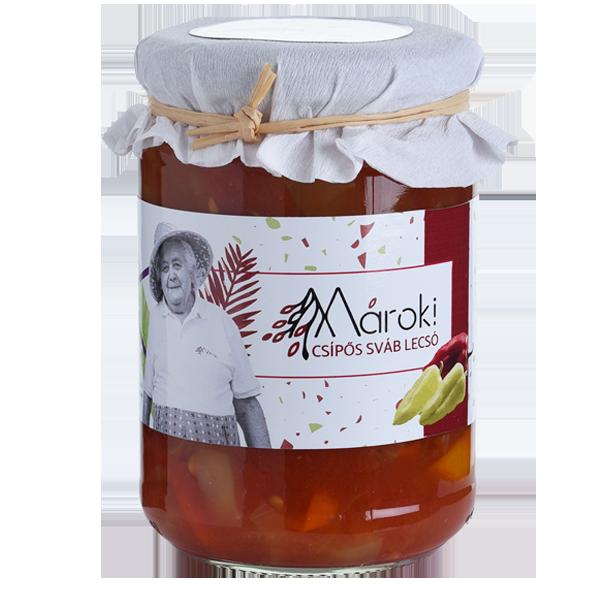 Mároki Csípős Sváb Lecsó - 370 ml