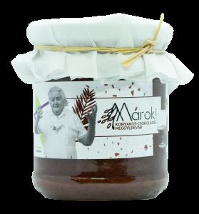 Konyakos-Csokoládés meggylekvár - 230 g